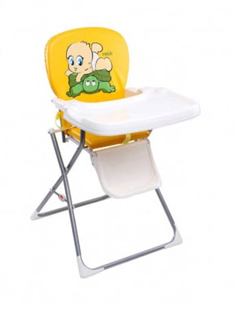 Farlin-Baby-Feeding-High-Chair-Yellow